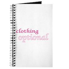 Optional (Pink) Journal