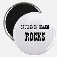 "SAUVIGNON BLANC ROCKS 2.25"" Magnet (10 pack)"