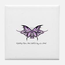 Cute Fibromyalgia Tile Coaster