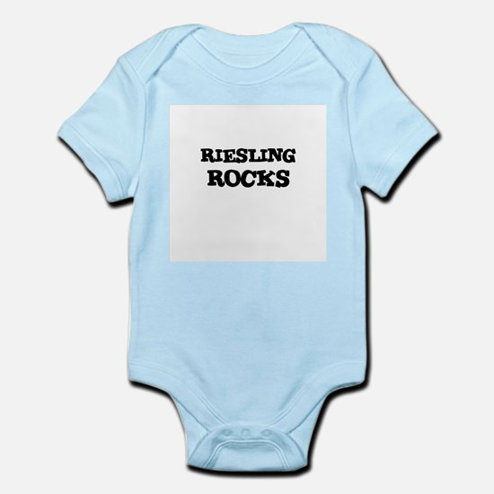 RIESLING ROCKS Infant Creeper