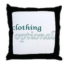 Optional (Blue) Throw Pillow