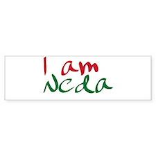 I am Neda (Free Iran) Bumper Bumper Sticker