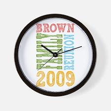Unique 09 Wall Clock