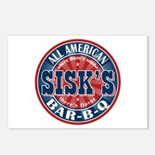 Sisk's All American BBQ Postcards (Package of 8)