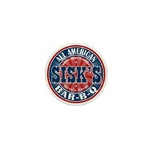 Sisk's All American BBQ Mini Button
