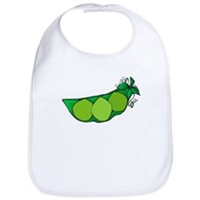 Cute Green peas Bib