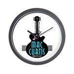 Inductee: Mac Curtis - Wall Clock