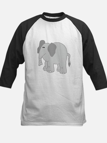 Ellie Elephant Kids Baseball Jersey