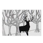 Winter Elk Postcards (Package of 8)