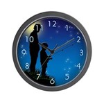 Fishing with Son (Wall Clock)