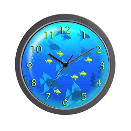 School of Fish (Wall Clock)
