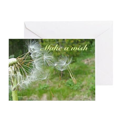 Dandelion Wish Greeting Card