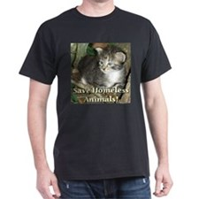 Save Homeless Animals T-Shirt