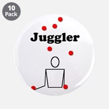"Juggler 3.5"" Button (10 pack)"