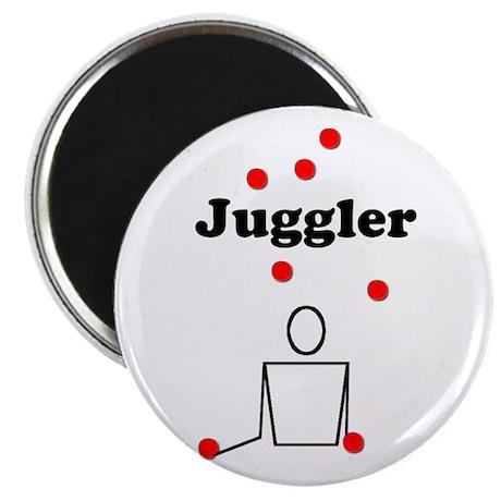 """Juggler 2.25"""" Magnet (10 pack)"""