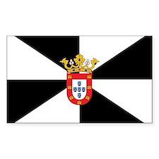Ceuta Flag Rectangle Sticker 10 pk)