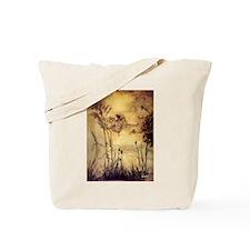 Fairies' Tightrope Tote Bag