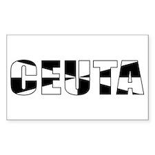 Ceuta Rectangle Decal