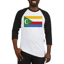 Comoros Flag Baseball Jersey