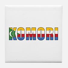 Comoros (Comorian) Tile Coaster