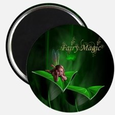 Fairy Magic Leaf Fairy Magnet