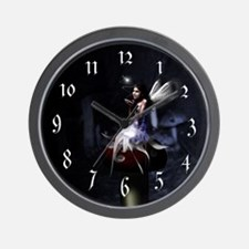 Magical Toadstool Fairy Wall Clock