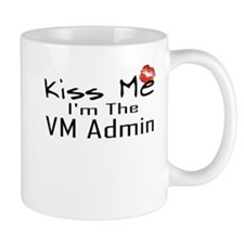 Kiss Me VM Admin Small Mug