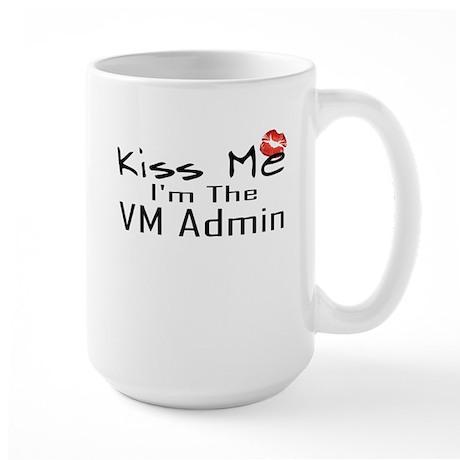 Kiss Me VM Admin Large Mug