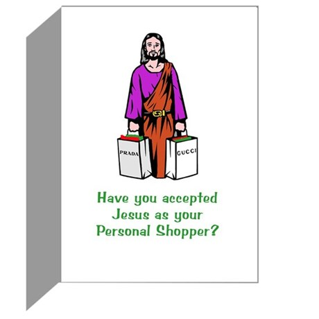 Accepted Jesus As Your Personal Shopper? 10 Pack