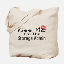Kiss Me Storage Admin Tote Bag