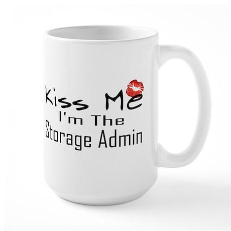 Kiss Me Storage Admin Large Mug