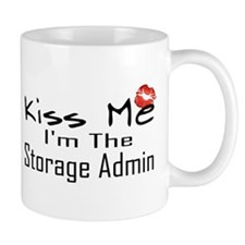 Kiss Me Storage Admin Mug