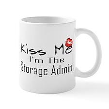 Kiss Me Storage Admin Small Small Mug