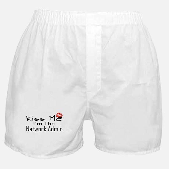 Kiss Me Network Admin Boxer Shorts