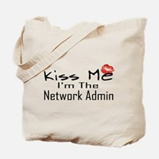 Kiss Me Network Admin Tote Bag