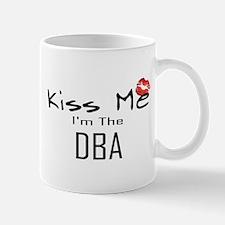 Kiss Me DBA Mug