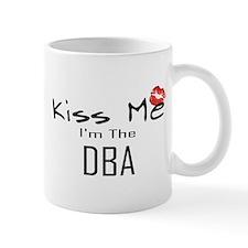 Kiss Me DBA Small Small Mug