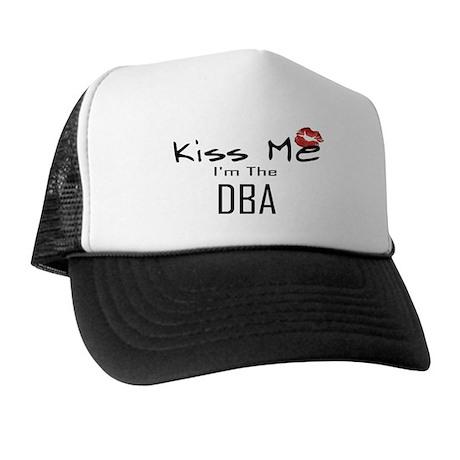 Kiss Me DBA Trucker Hat