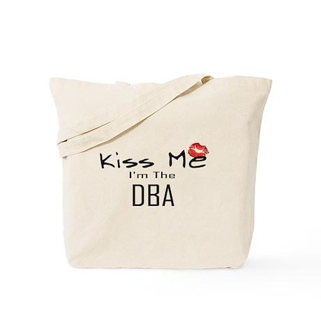 Kiss Me DBA Tote Bag