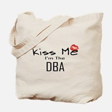 Kiss Me DBA Tote Bag