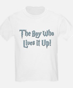 The Boy Who Lives It Up T-Shirt