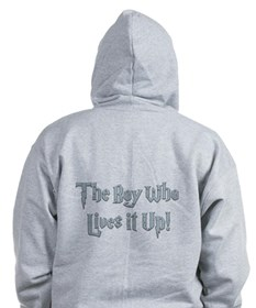 The Boy Who Lives It Up Zip Hoodie (2 SIDED)