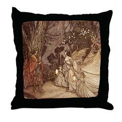 Oberon & Titania Throw Pillow