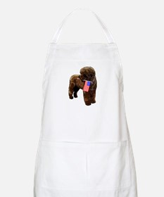 Brown PWD with Flag BBQ Apron