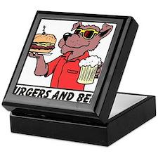 Beer & Burgers Keepsake Box