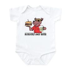 Beer & Burgers Infant Bodysuit