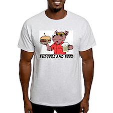 Beer & Burgers T-Shirt