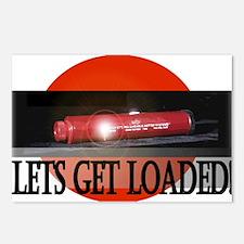 Lets Get Loaded! Postcards (Package of 8)