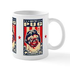 Obey the Pug! USA Flying Ace Freedom Mug