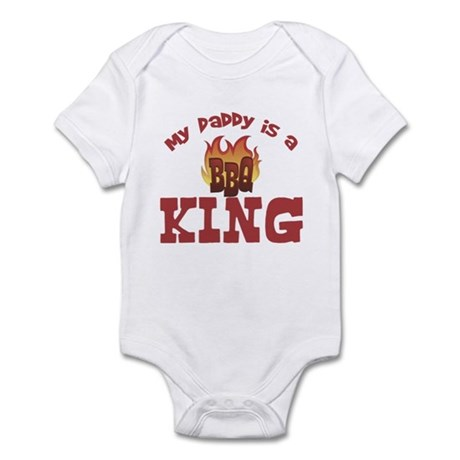 Daddy is a BBQ King Baby Infant Bodysuit